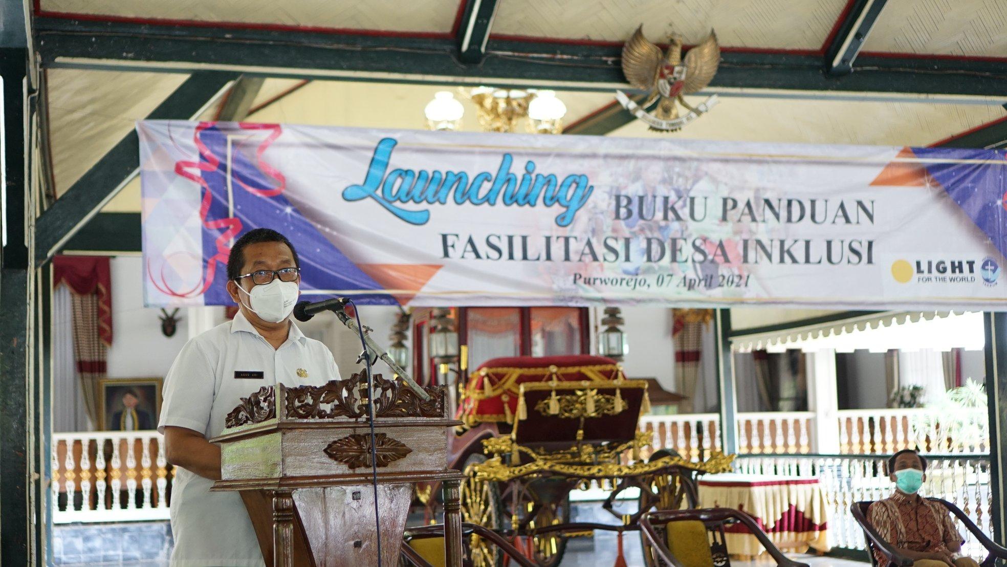 Launching Buku Panduan Desa Inklusi Purworejo